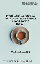 International Journal of Accounting & Finance in Asia Pasific (IJAFAP)
