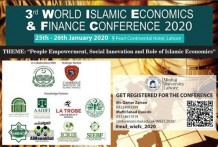 3rd World Islamic Economics and Finance Conference (WIEFC 2020)