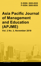 Asia Pacific Journal of Management and Education