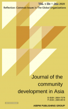 Journal of the Community Development in Asia